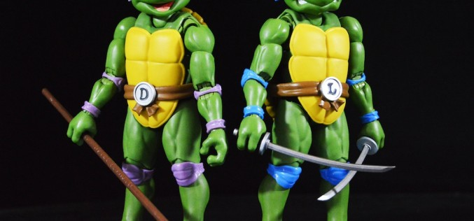S.H. Figuarts Teenage Mutant Ninja Turtles Leonardo & Donatello Figures Review