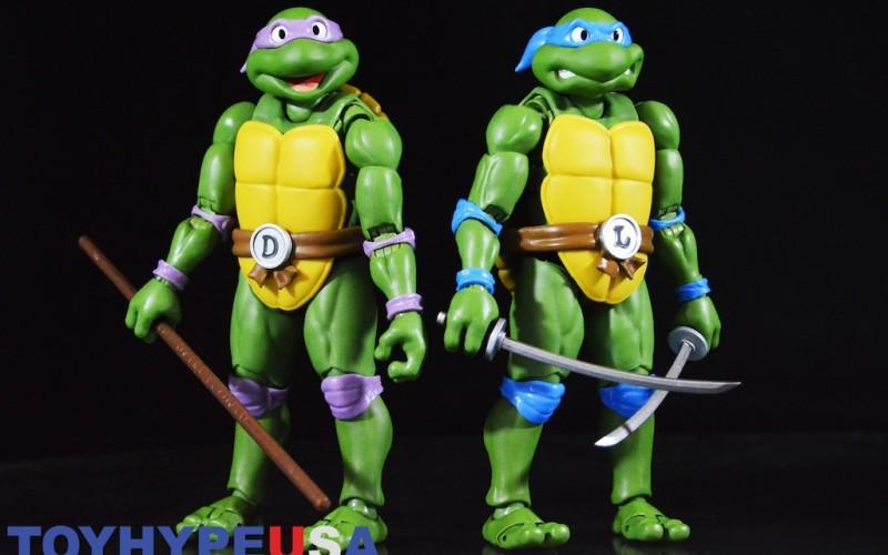 S.H. Figuarts Teenage Mutant Ninja Turtles Leonardo & Donatello Figures Review