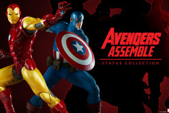 Sideshow Avengers Assemble Iron Man & Captain America Statues Preview