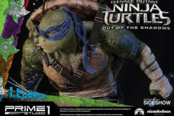Prime 1 Studio Teenage Mutant Ninja Turtles Out Of The Shadows Leonardo Statue Pre-Orders