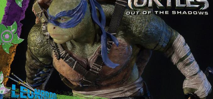Prime 1 Studio Teenage Mutant Ninja Turtles Out Of The Shadows Leonardo Statue Pre-Orders