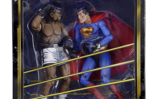 NECA Toys Superman Vs. Muhammad Ali Figure 2 Pack On Official Amazon Storefront