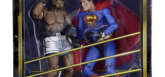Superman Vs. Muhammad Ali Collectible Action Figure Set Shipping This Month