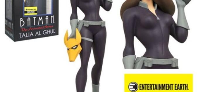 Batman: The Animated Series Talia Al Ghul Femme Fatales Statue – Entertainment Earth Exclusive Now $14