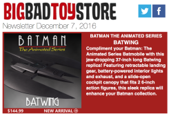 BigBadToyStore: Batwing, Street Fighter, Transformers, DC, Dawn Of The Dead, Power Rangers, Star Wars & More