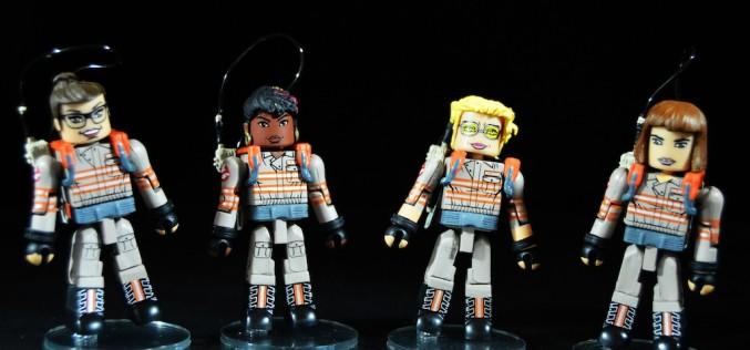 Diamond Select Toys Ghostbusters 2016 Minimates 2 Packs Series 1 Review