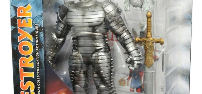 Diamond Select Toys Marvel Select Odin Destroyer Figure Packaging Images & Shipping Update