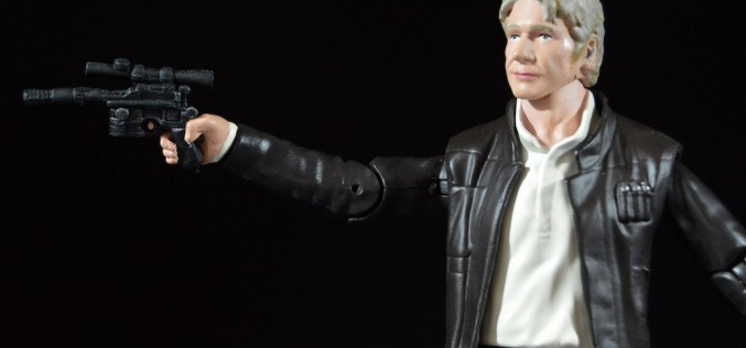 Disney Store Exclusive Star Wars Elite Series The Force Awakens Han Solo Figure Review