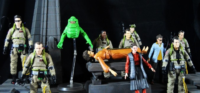 Ghostbusters Select Series 3 – Quittin' Time Ray, Janine & Slimer Review