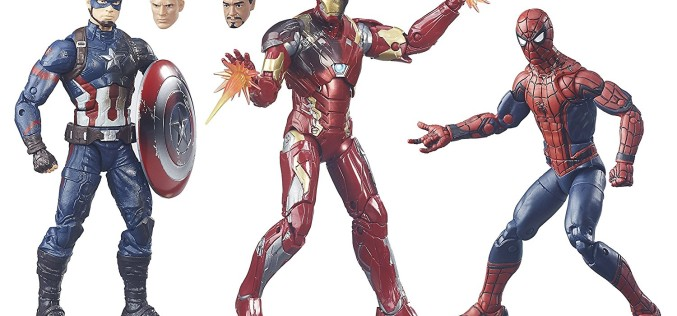 Hasbro Marvel Legends Captain America: Civil War 3 Pack $19.97 On Wal-Mart