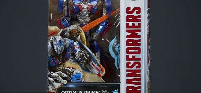 Hasbro Transformers: The Last Knight Optimus Prime Voyager Figure Packaging Art Revealed