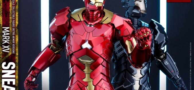 Hot Toys Iron Man Sneaky Mark XV Retro Armor Pre-Orders