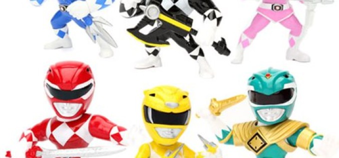 Jada Toys Power Rangers 4″ Metals Die Cast Figures Wave 1