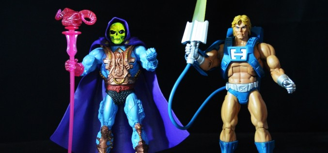Masters Of The Universe Classics Laser Power He-Man & Laser Light Skeletor Review