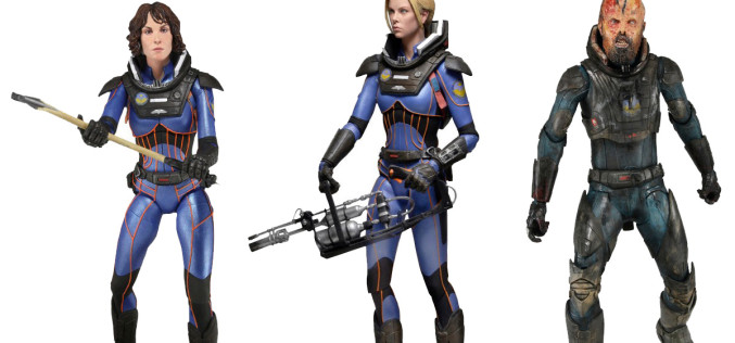 NECA Toys Prometheus – The Lost Wave Now Listed On Their Amazon & eBay Storefront
