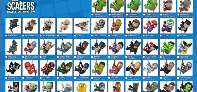 NECA Toys Scalers Checklist – 12 Days Of Downloads