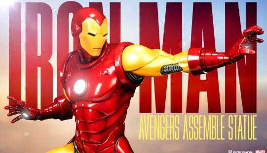 Sideshow Avengers Assemble Iron Man Statue Pre-Orders