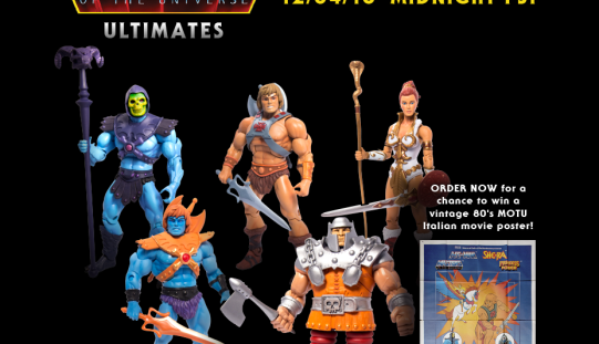 Super 7 Extends Masters Of The Universe Classics Pre-Sale & More