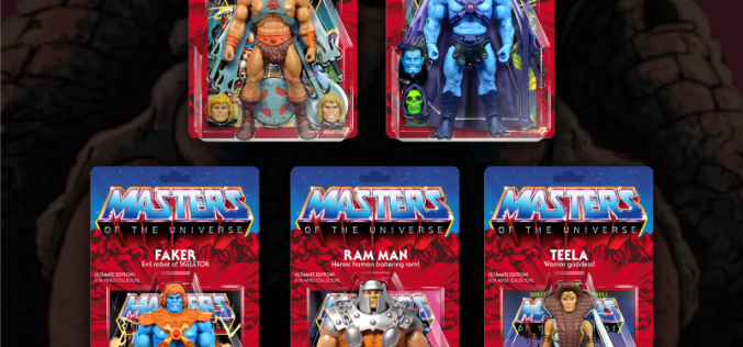 Super 7 Updates On Masters Of The Universe Classics Ultimates & Filmation Figures With New Video