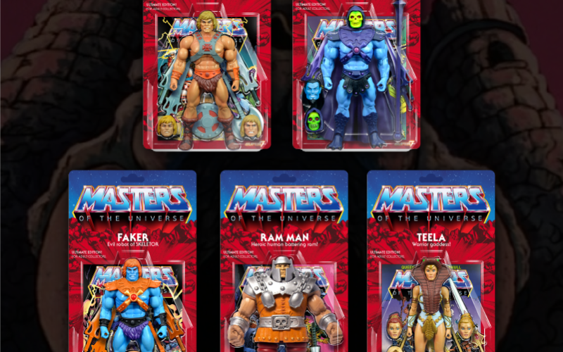 Super 7 Masters Of The Universe Classics Ultimate Figures Shipping & Packaging Update