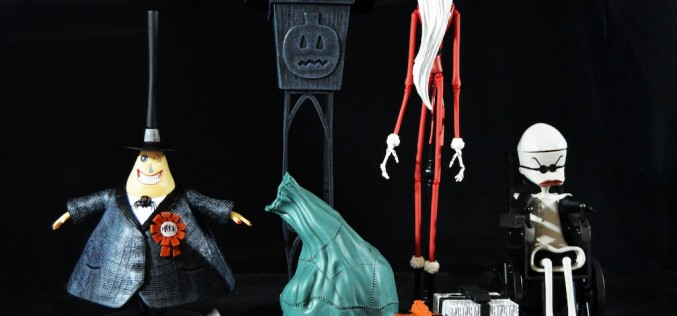 The Nightmare Before Christmas Select Series 2 – Santa Jack, The Mayor & Dr. Finkelstein Review