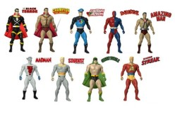 Amazing Heroes Action Figures Series 1 Set