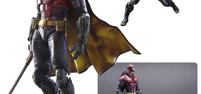 Batman: Arkham Knight Robin Play Arts Kai Figure Now $33.90