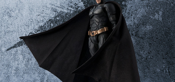 S.H. Figuarts The Dark Knight – Batman Figure Official Details & Images