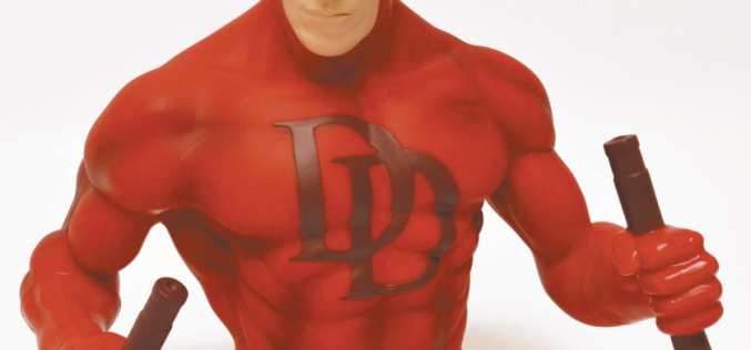 Daredevil Bust Bank Previews Exclusive By Monogram