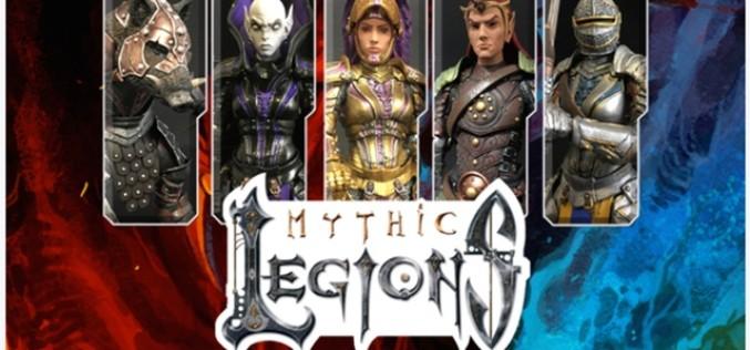 Four Horsemen Studios Launches Mythic Legions 2.0 Kickstarter