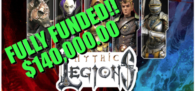 Four Horsemen Studios Mythic Legions 2.0 Kickstarter Fully Funded