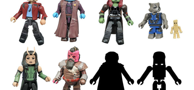 Diamond Select Toys Guardians Of The Galaxy Vol. 2 Minimates