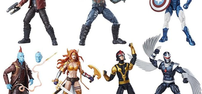 Hasbro Marvel Legends 6″ Guardians Of The Galaxy Wave 2 Figures Now Available & X-Men Update