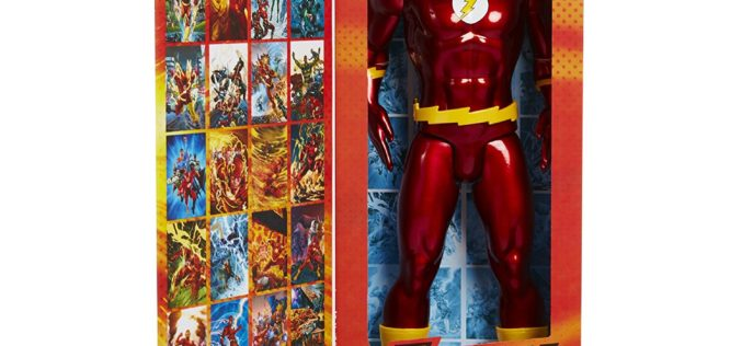 JAKKS Pacific Big Figs Tribute Series DC Originals 19″ The Flash In Stock Now On Amazon