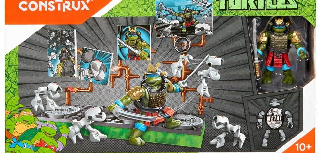 Mega Bloks Teenage Mutant Ninja Turtles Samurai Leonardo Battle Pack Listed On Mattel Shop