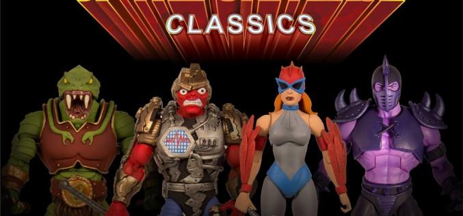 Super 7 Reveals Masters Of The Universe Classics Fangor, Quakke, Hawke & Lodar