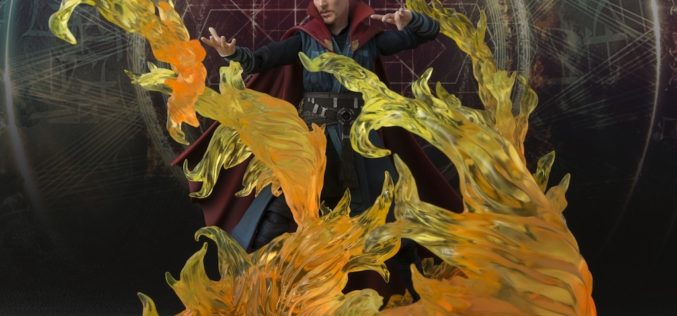 Bluefin Expands Tamashaii Nations' S.H. Figuarts Marvel Line With New Exclusive Doctor Strange Action Figure Set