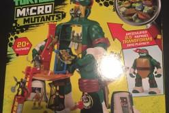 Playmates Toys Teenage Mutant Ninja Turtles Micro Mutants Raph's Train & Battle Playset Review