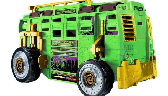 Playmates Toys Teenage Mutant Ninja Turtles Shellraiser Street To Sewer Assault Vehicle