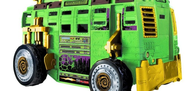 Playmates Toys Teenage Mutant Ninja Turtles Shellraiser Street To Sewer Assault Vehicle