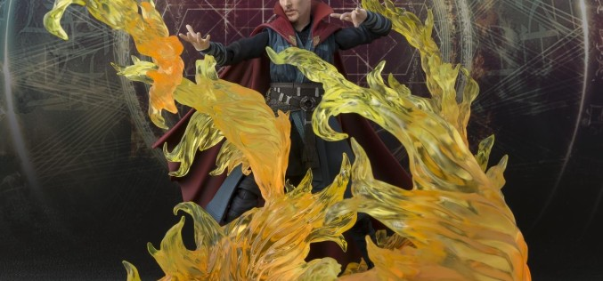 Bluefin Distribution Reveals U.S. Exclusive S.H. Figuarts Dr. Strange Set