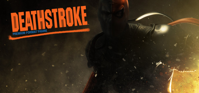 Sideshow Collectibles Deathstroke Premium Format Figure Preview