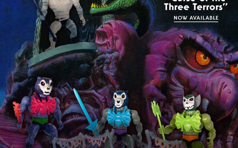 Super 7: Vintage Style MOTU Curse Of The Three Terrors Figures Now Available
