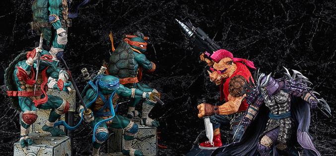 Good Smile Company Teenage Mutant Ninja Turtles Bebop Statue Official Details & Images