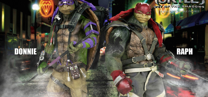 ThreeZero TMNT: Out Of The Shadows Donatello & Raphael Sixth Scale Figure Preview