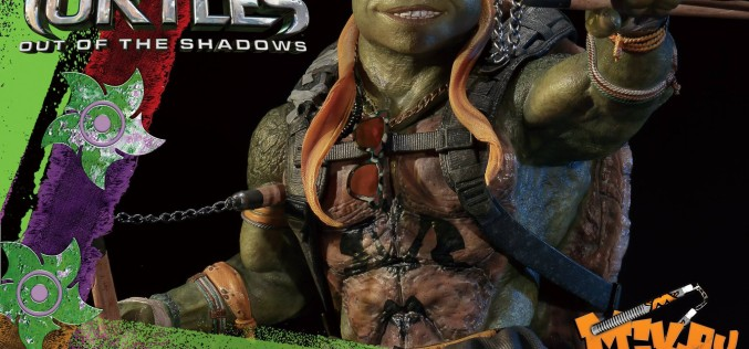 Teenage Mutant Ninja Turtles: Out Of the Shadows Michelangelo Statue Pre-Order