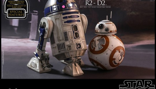 Hot Toys Star Wars: The Force Awakens R2-D2 Sixth Scale Figure