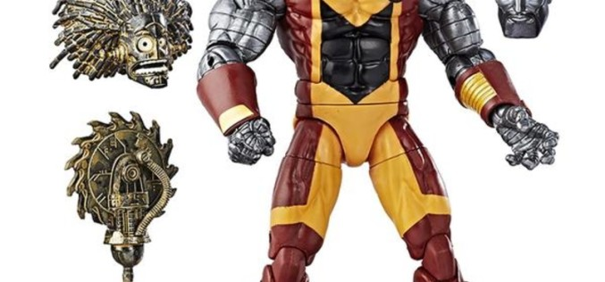 Hasbro Marvel Legends X-Men Warlock BAF Wave Official Press Images