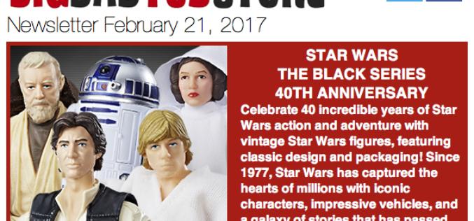 BigBadToyStore: Toy Fair, Star Wars, TMNT, DC, Alien, Marvel & More