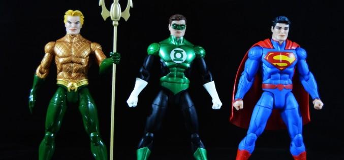 DC Collectibles Designer Series Greg Capullo Aquaman, Green Lantern & Superman Figures Review